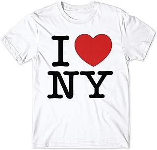 Camiseta Hombre I Love NY - t-Shirt 100% algodón