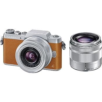 パナソニック ミラーレス一眼カメラ DMC-GF7ダブルズームレンズキット 標準ズームレンズ/望遠ズームレンズ付属 ブラウン DMC-GF7W-T