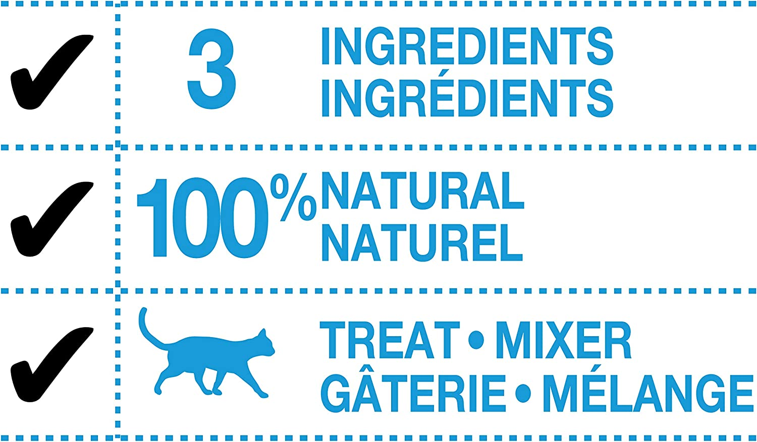 12 Pack PureSnacks 2PSCW50121M12PFR3 Mixers 12-Pack Chicken for Cats