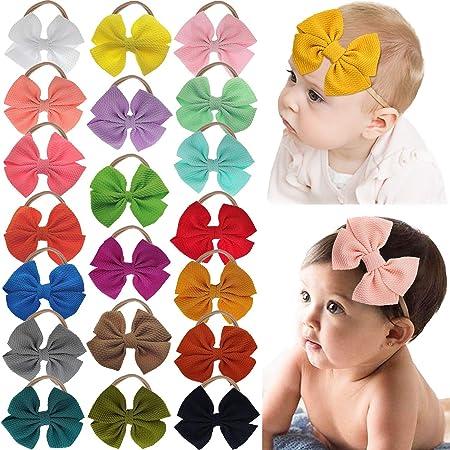 Baby Headband.Aqua Headband..Baby Headband.Nylon Headband.Baby Girl Headbnd.Photo Prop.Newborn Headband.Infant Headband. Baby