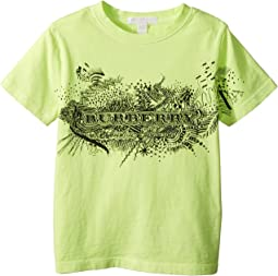 Burberry Kids - Rydon Scribble Tee (Little Kids/Big Kids)