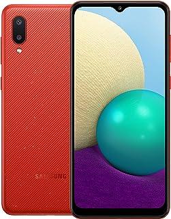 Samsung Galaxy A02 Dual SIM, 32GB 3GB RAM LTE (UAE Version), Red