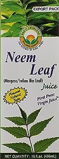 Neem Leaf Juice Margos Juice Indian Lilac Leaf Juice First Press Virgin Juice From Basic Ayurveda