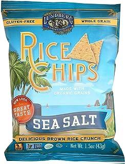 Lundberg Family Farms, Chip Rice Sea Salt Organic, 1.5 Ounce