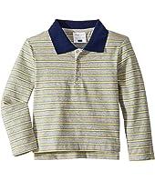 Long Sleeve Polo Shirt (Toddler/Little Kids/Big Kids)