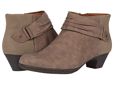 Rockport Brynn Rouched Boot (Dust) Women