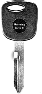 Transponder Key Blank Fits 2000 2001 2002 2003 2004 2005 Ford Focus with Do It Yourself Programming Instructions