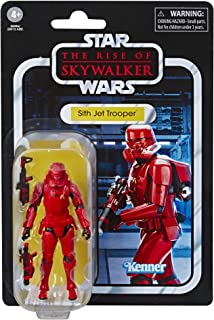 Star Wars The Vintage Collection The Rise of Skywalker Sith Jet Trooper Toy, 3.75