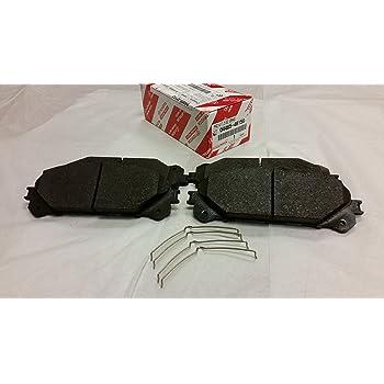 AdecoAutoParts /© Premium Front Brake Pad Kit CKD1324 for Lexus NX200t NX300h RX350 RX450h Toyota Highlander Sienna 2008-2016