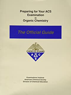 Preparing for you ACS Examination in Physical Chemistry : The Official Guide