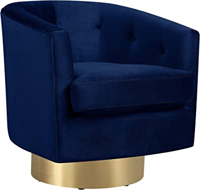 Amazon Com Swivel Accent Chairs Uphostered Club Chair