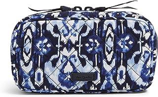 Vera Bradley Signature Cotton Zip-Around Essential Oil Case, Ikat Island