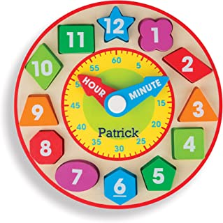 Melissa & Doug Personalized Shape Sorting Clock