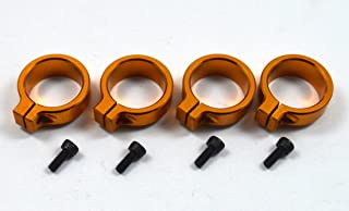 Dhawk Racing Aluminum Shock Spring Clamps Gold For Team Associated RC10 6451