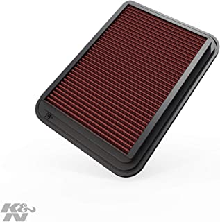 K&N engine air filter, washable and reusable: 2002-2019 Toyota Compact L4 1.2/1,5/1.6/1.8/2.0 L (Auris, Avensis, Corolla, Vitz, Yaris, Verso, Probox, Ractis, Wish, Alion, Premio) 33-2360