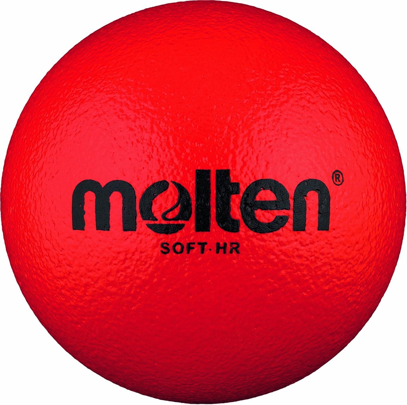命題短命アマゾンジャングルMolten Softball Handball - 1, Red by Molten