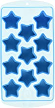 Fairly Odd Novelties Star Shape Flexible 11 Ice Cube Trae Mold Blue Rubber Novelty Gag Gag Gift