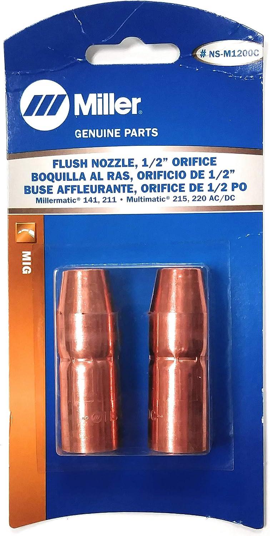 Miller Flush Nozzle, 1/2