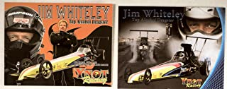 NHRA - Jim Whiteley/Top Alcohol Dragster - Ynot Racing/Raptor Industries/B&J Transmissions/Valspar/NGK - 3 Promo Cards - Out of Print - Collectible