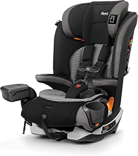 Chicco MyFit Zip Air Harness + Booster Car Seat - Q Collection, Black