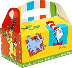 BirthdayExpress Dr Seuss Cat in The Hat Party Supplies - Empty Favor Boxes (4)