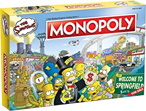 Monopoly The Simpsons Board Game | Based on Fox Series The Simpsons | Collectible Simpsons Merchandise | Themed Classic Mo...