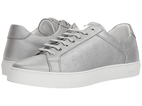 8430d003a2e9 MCM Embossed Logo Low Top Sneaker at Zappos.com