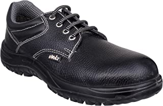 E-Volt 82268-Quanta-10 Industrial Safety Shoe, Steel Toe Cap for 200 Joules, Double Density PU Sole