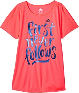adidas Kids - First Never Follows Tee (Big Kids)