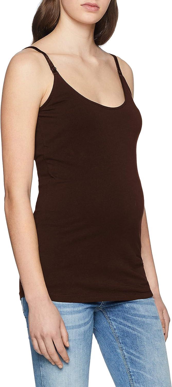 Esprit Maternity Womens Spaghetti Top Nursing Cami Shirt