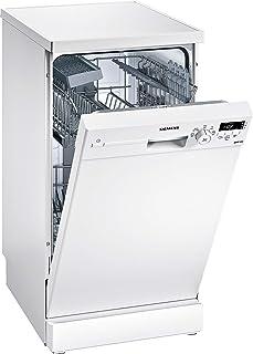 Siemens iQ100 SR215W03CE lavavajilla Independiente 9 cubiertos A+ - Lavavajillas (Independiente, Estrecho (45 cm), Blanco, Blanco, Botones, Giratorio, 1,75 m)