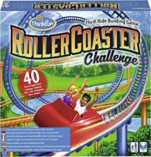 Think Fun - Roller Coaster Challenge Game of Skill (Ravensburger 76343), Assorted Colour/Model