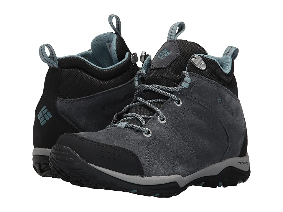 Columbia Fire Venture Mid Waterproof (Graphite/Storm) Women