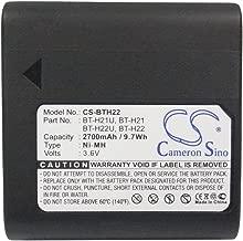 XPS Replacement Battery for Sharp VL-8 VL-8888 VL-A10 VL-A10E VL-A10H and Others PN Sharp BT-H21 BT-H21U BT-H22 BT-H22U