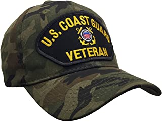 Coast Guard Vet Veteran Hat Camo