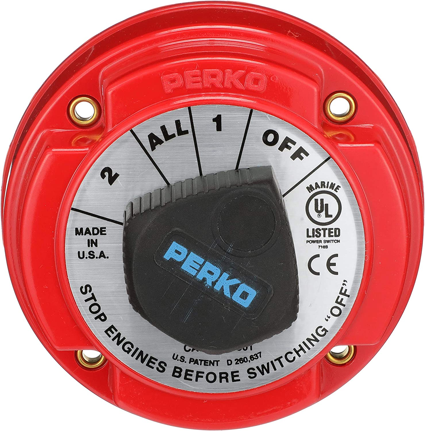 Seachoice 11501 Battery Selector size Red famous Max 44% OFF Switch One