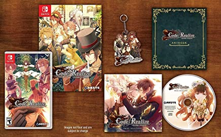 Code Realize - Guardian of Rebirth Collector's Edition, Switch