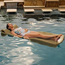 product image for TRC Recreation Texas Recreation Sunray 1.25-in Thick Swimming Pool Foam Pool Floating Mattress, Bronze