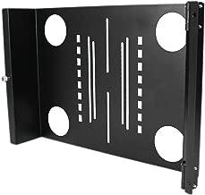 StarTech.com Universal Swivel VESA LCD Mounting Bracket for 19in Rack or Cabinet (RKLCDBKT)