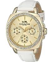 COACH - Boyfriend 40MM Leather Strap Watch