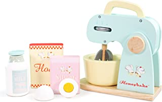 Le Toy Van Honeybake Collection Mixer Set Premium Wooden Toys for Kids Ages 3 years & Up