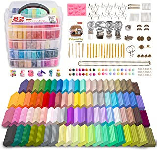 82 Colors Polymer Clay Kit with Tools