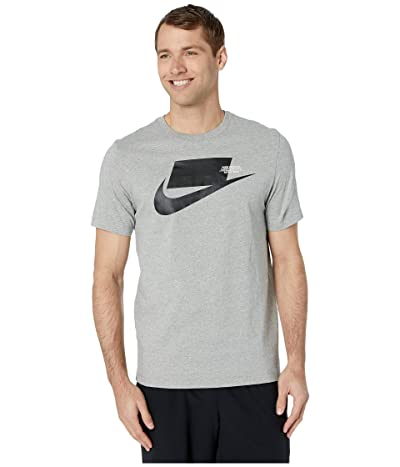 Nike NSW Sports Pack Short Sleeve Tee (Dark Grey Heather/Black) Men