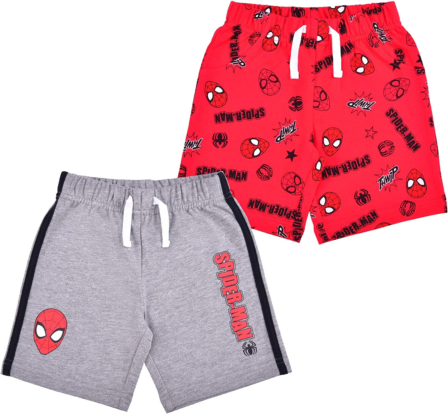 High quality Marvel Spiderman 2 Pack Shorts Set Boys for Boston Mall Printed