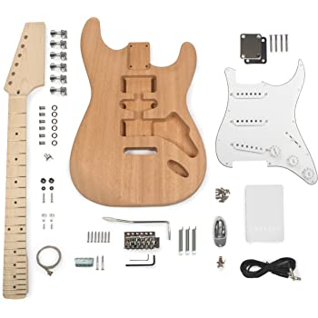 StewMac Build Your Own S-Style Electric Guitar Kit
