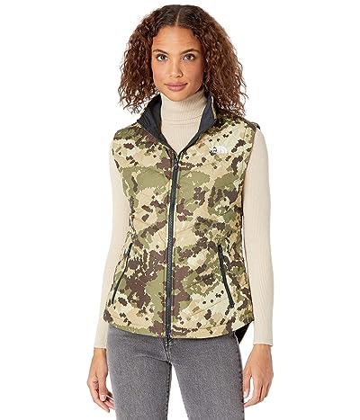 The North Face Tamburello 2 Vest (Burnt Olive Green Digi Topo Print) Women