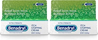 Benadryl Extra Strength Anti Itch Cream 1 Oz Tube (Pack of 2