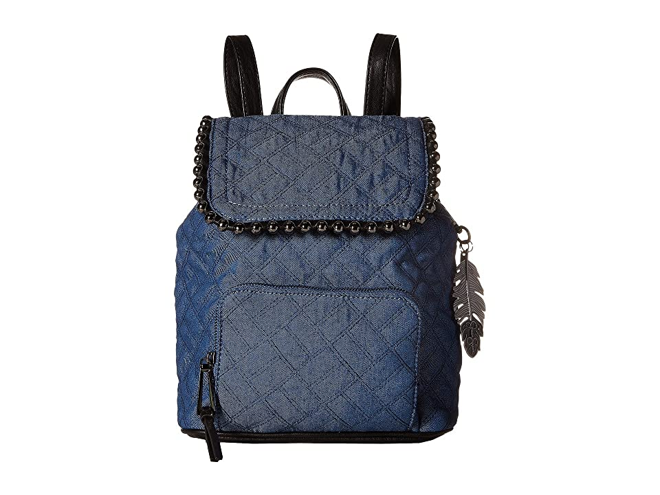 Jessica Simpson Camile Backpack (Quilted Denim) Backpack Bags