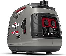 Briggs and Stratton 30698 Generador Inversor Portátil de Gasolina P2200, Gris, Medium