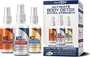 Results RNA Ultimate Body Detox Extra Strength | Unparalleled Immune System Support - 4oz, 3 Count